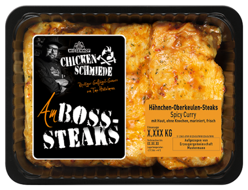 WIESENHOF Chicken Schmiede Amboss Steaks